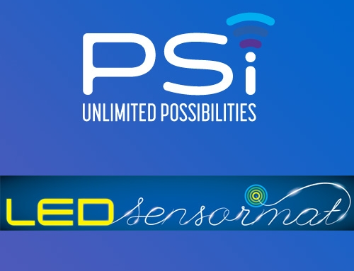 PSI and LED Sensormat™ professionally branded