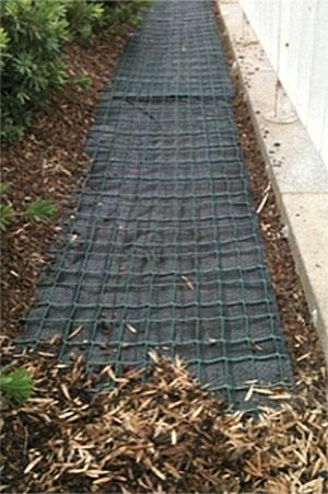 led sensor mat under mulch